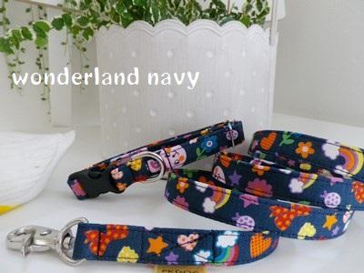 画像2: wonderland navy