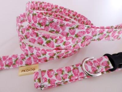 画像1: 【カラー&リード1.5幅】strawberry pink