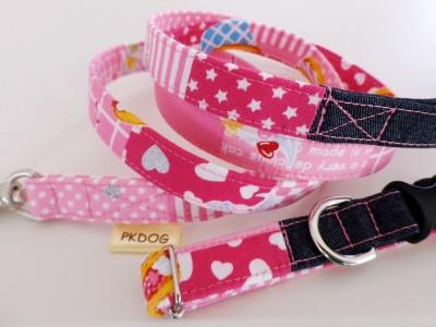 画像1: 【カラー&リード1.5幅】sweets melody pink