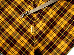 画像1: 【スリング】check yellow