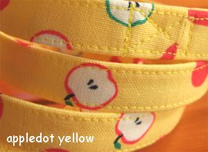 画像1: apple dot yellow