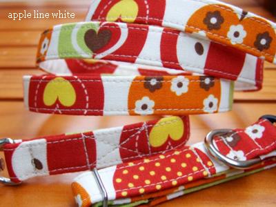 画像1: apple line white