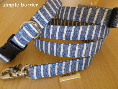 画像2: simple blue border
