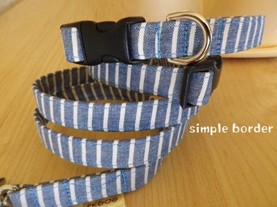画像3: simple blue border