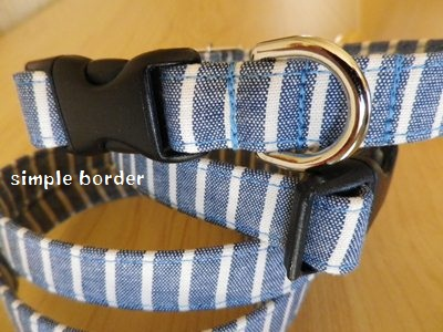 画像1: simple blue border