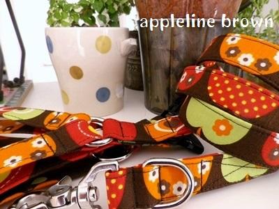画像1: apple line brown