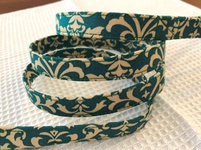 画像1: damask turquoise green